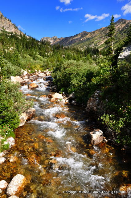 The North Fork of Cascade Canyon.