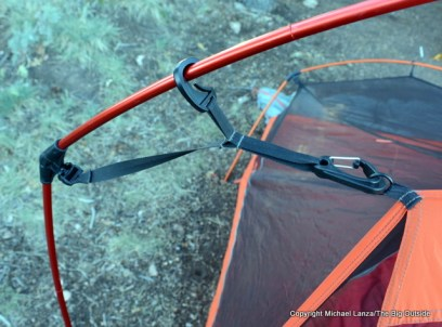 Slingfin 2Lite Trek with optional front pole clips.