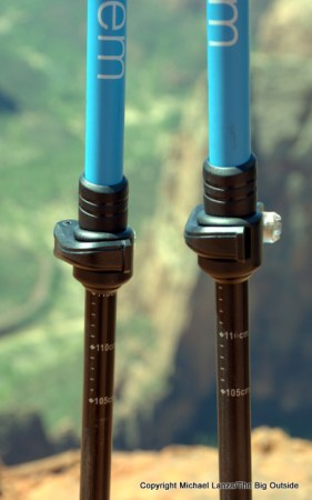 The Montem Ultra Strong Trekking Poles.