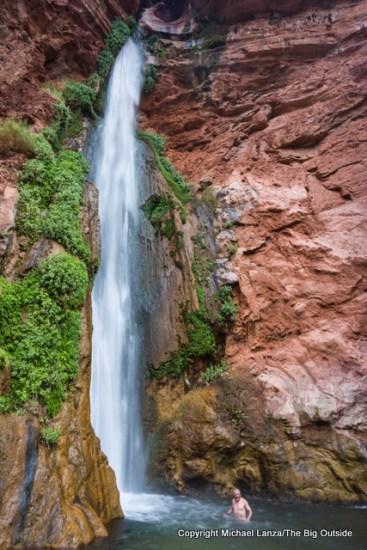 Deer Creek Falls in the Grand Canyon.