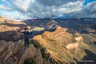Ooh-Ah Point on the upper South Kaibab Trail, Grand Canyon.