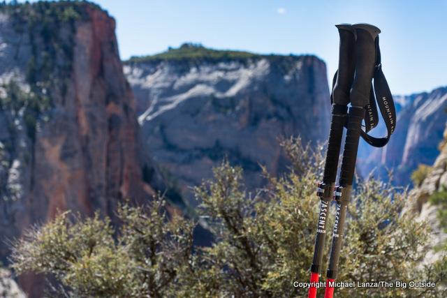 MSR DynaLock Ascent Trekking Poles.