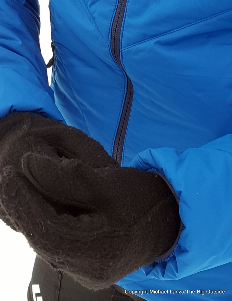 Outdoor Research Refuge Hooded Jacket cuffs.