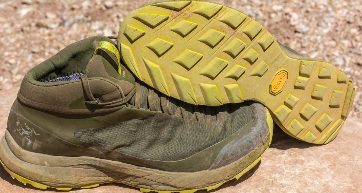 9b2f9c3849 Gear Review: Arc'teryx Aerios FL Mid GTX Hiking Shoes | The Big Outside