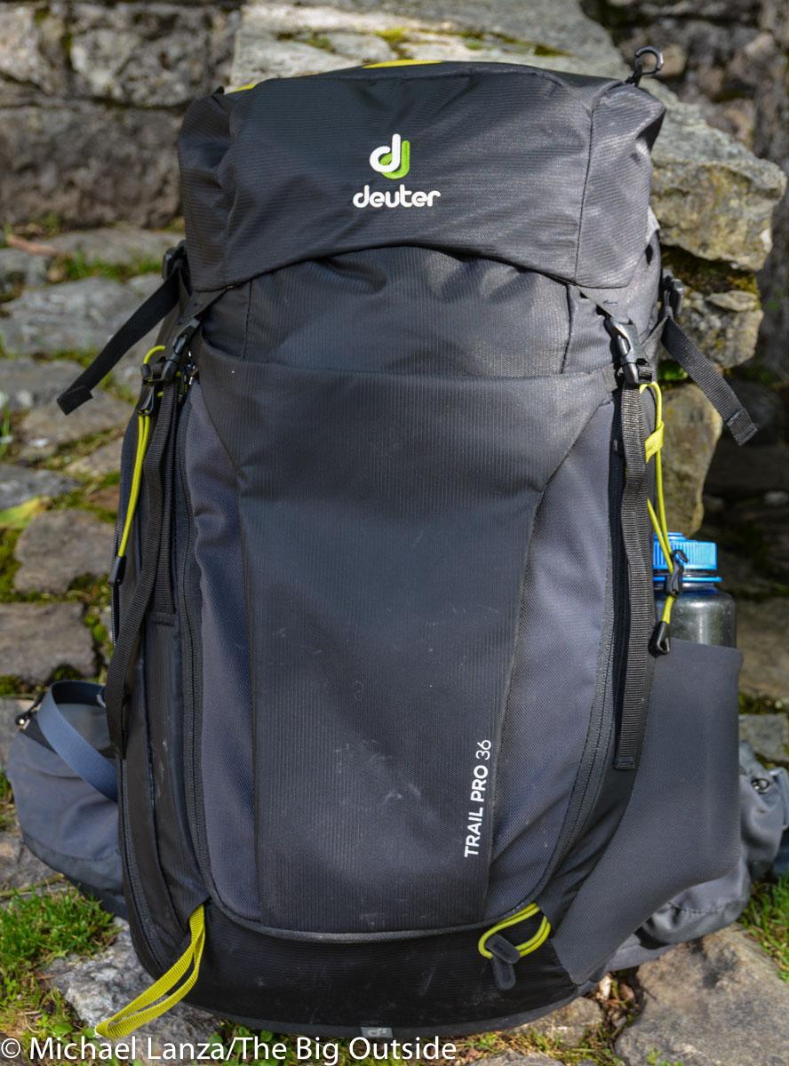 Deuter Trail Pro 36 front.