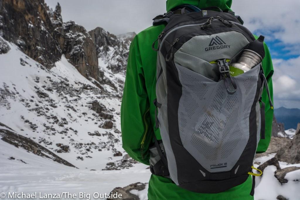 The Gregory Miwok 18 in Spain's Picos de Europa Mountains.