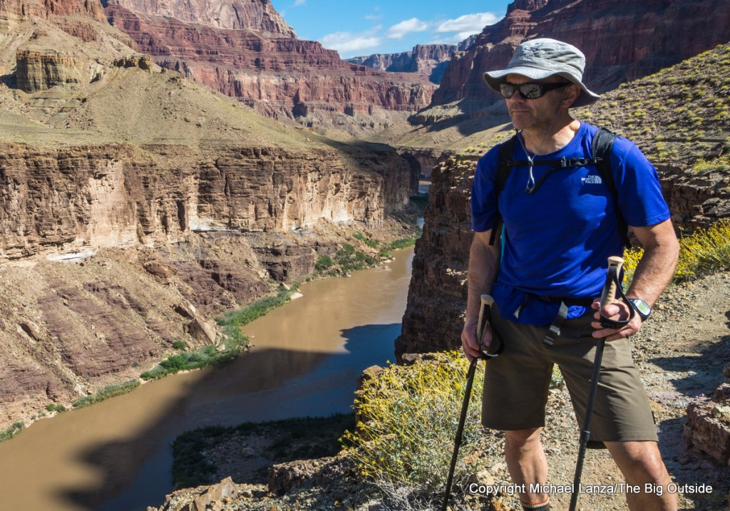 The North Face Hyperlayer FD Short-Sleeve Crew in the Grand Canyon.