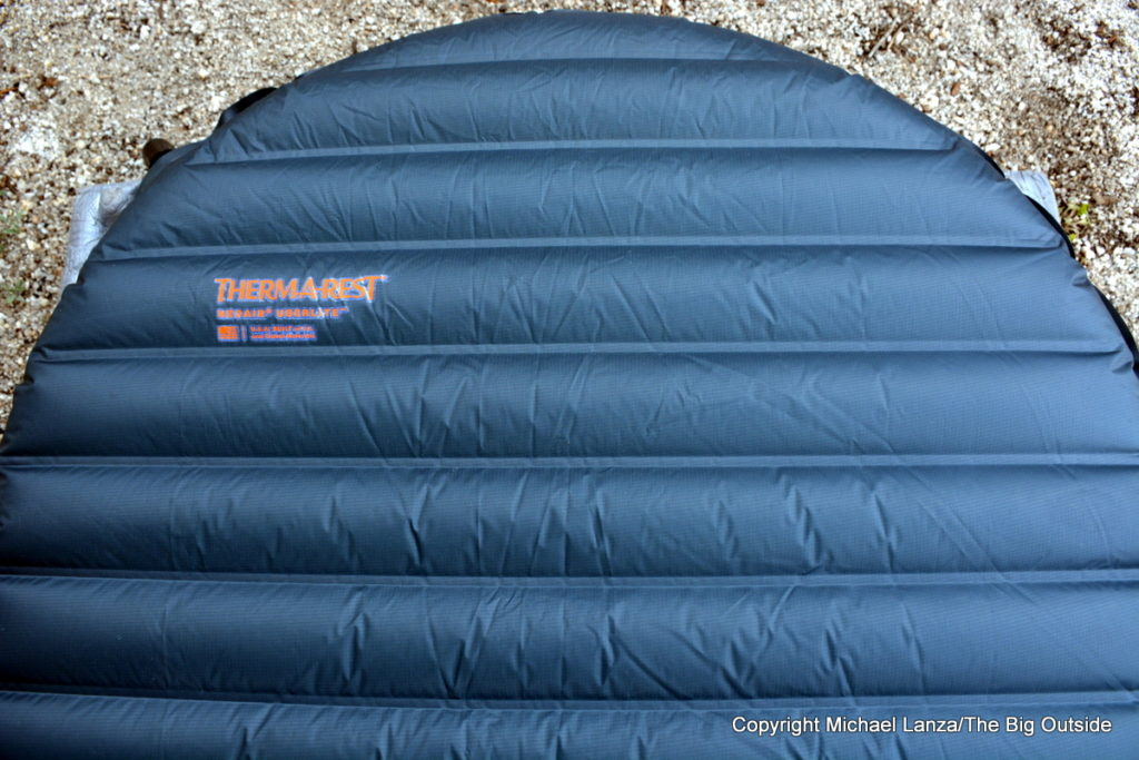 Therm-a-Rest NeoAir UberLite air mattress.