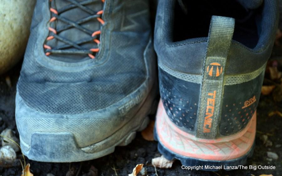 The Tecnica Plasma S toe and heel.