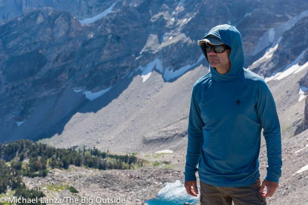 The Black Diamond Long-Sleeve Alpenglow Hoody.