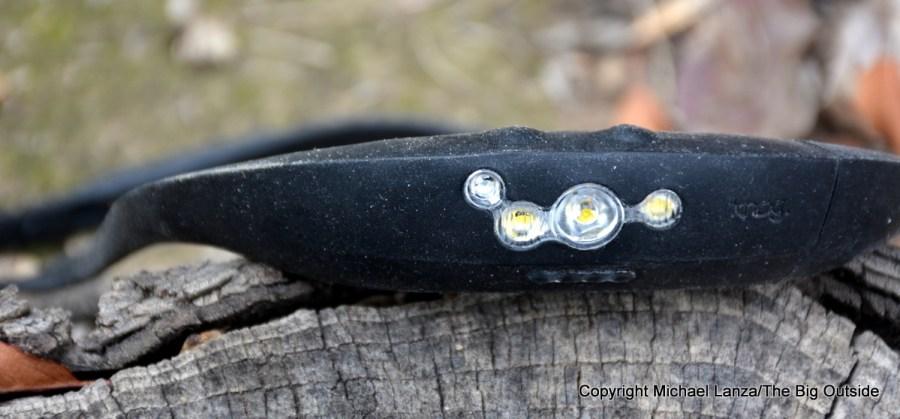 The Knog Bandicoot headlamp.