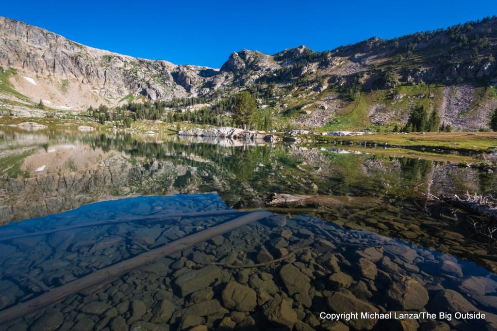 Lake Solitude, North Fork Cascade Canyon, Grand Teton National Park.