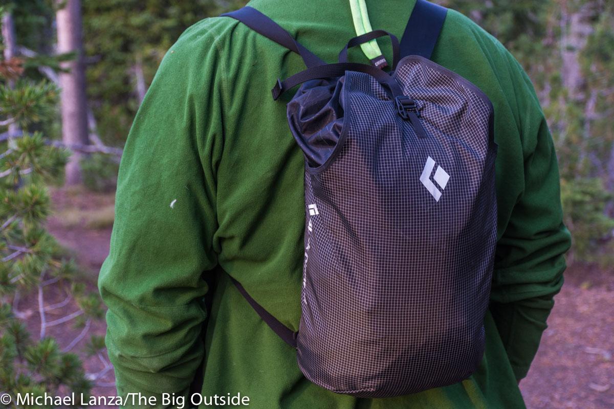 Black Diamond Trail Blitz 12 ultralight daypack.