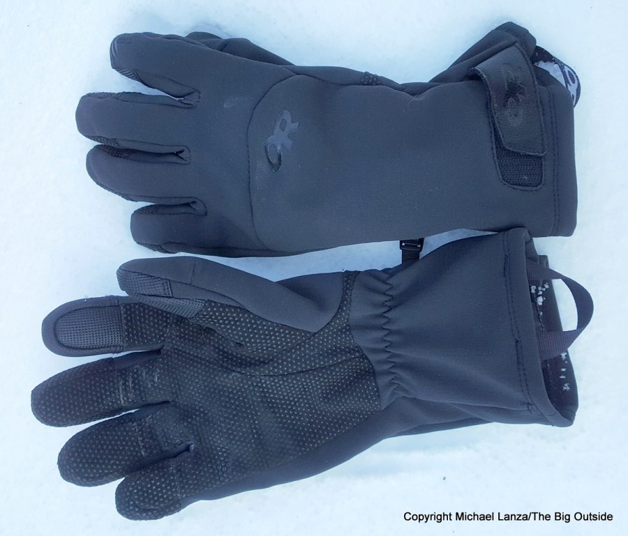 Weatherproof Girls Big Color Blocked Ski Gloves