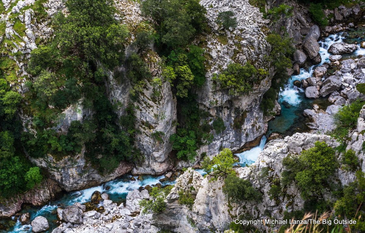 The Cares Gorge, Picos de Europa National Park, Spain.