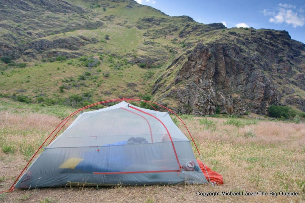 Big Agnes Copper Spur HV UL2 ultralight backpacking tent.