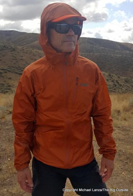 The Outdoor Research Helium II Jacket.