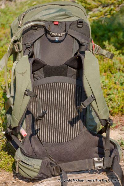 Osprey Archeon 70 harness.