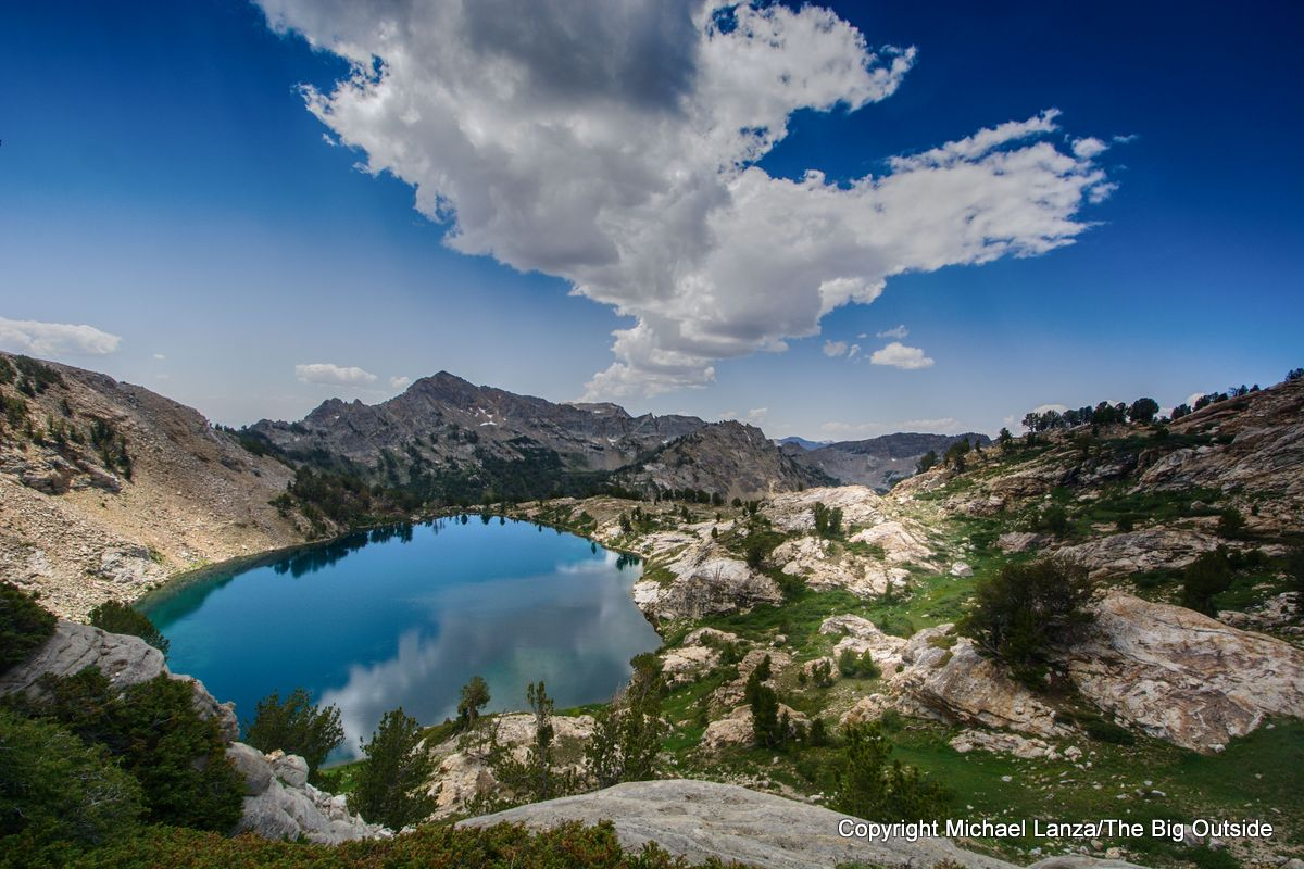 Liberty Lake on the Ruby Crest Trail, Ruby Mountains, Nevada.