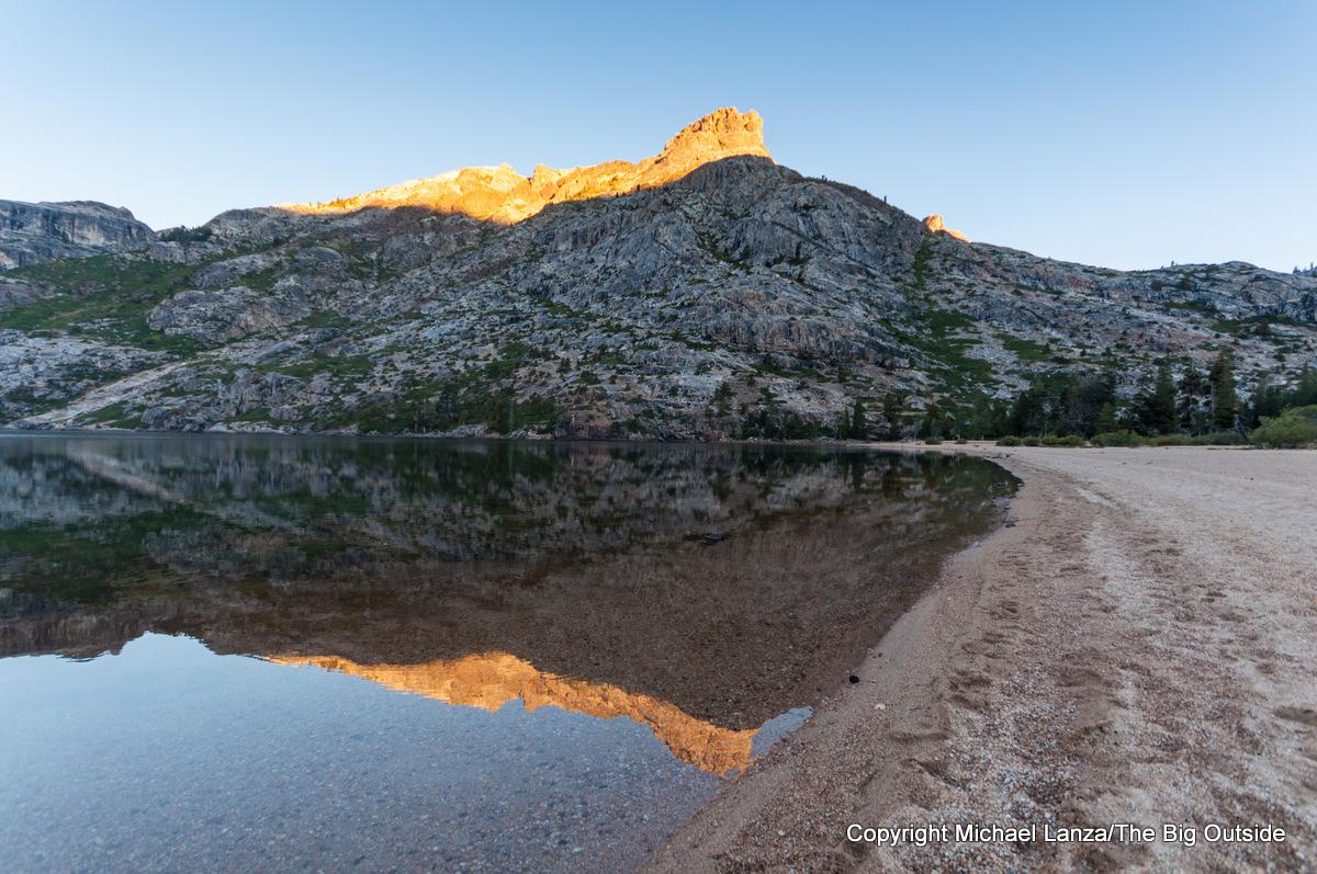Benson Lake in Yosemite National Park.