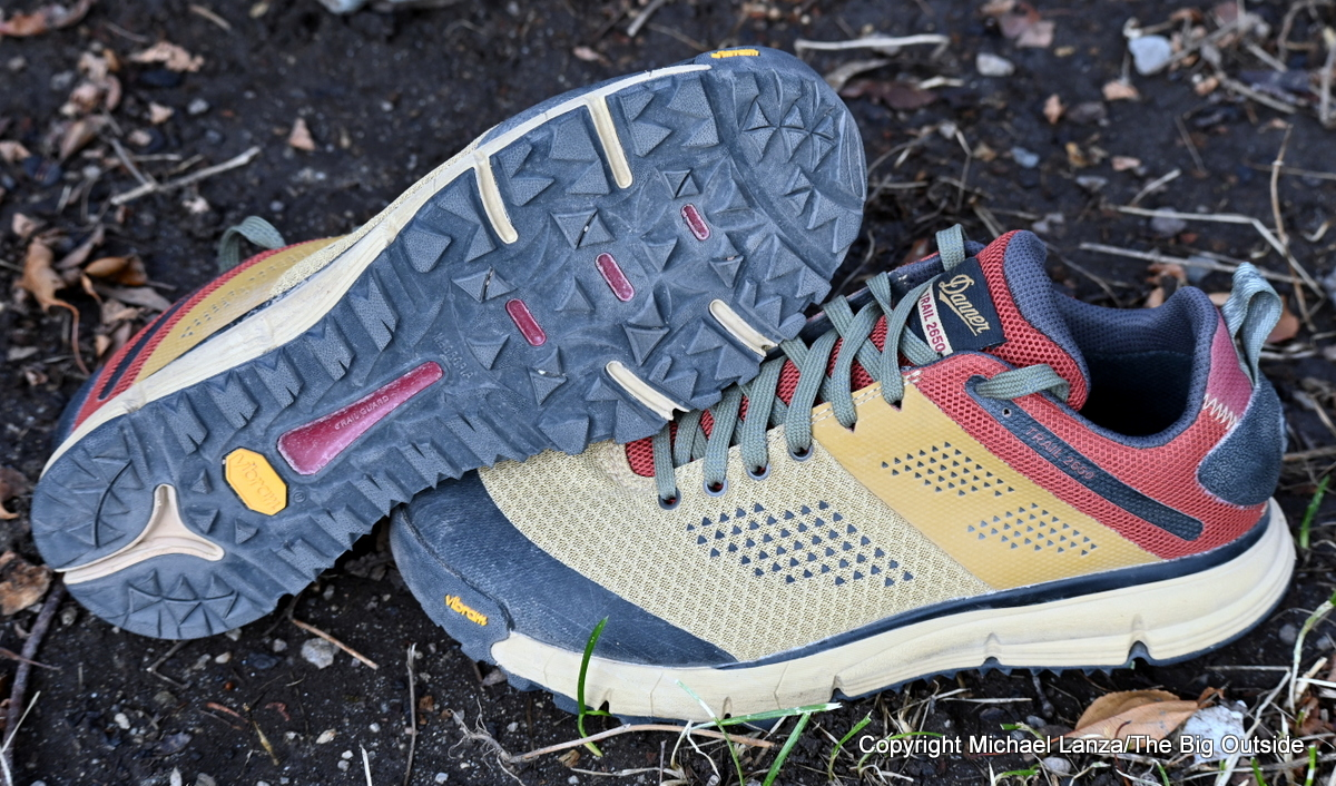 Danner Trail 2650 Mesh hiking shoes.