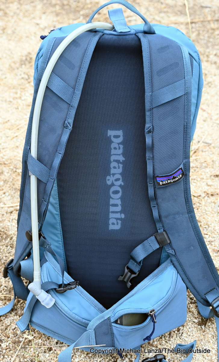 Patagonia Altvia 22L harness.