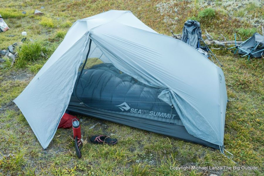 Sea to Summit Alto TR2 ultralight backpacking tent.