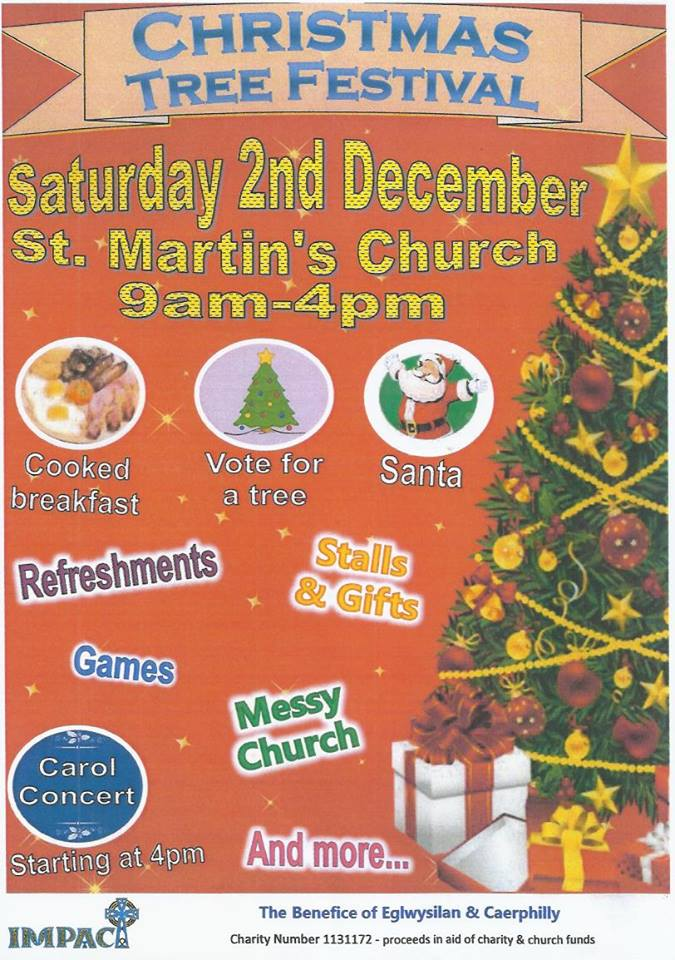 Where Did Christmas Trees Originate.Christmas Tree Festival At St Martin S Church Followed By A