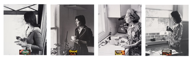 David Salle- 'The Coffee Drinkers'