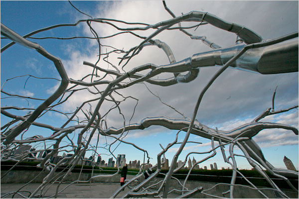 Roxy Paine on the Roof- Maelstrom
