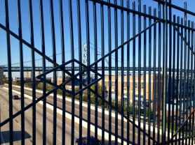 What the BF Bridge looks like from prison.