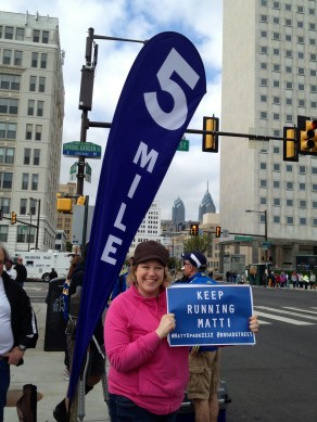 How lucky are we to live 3 blocks from Mile 5?
