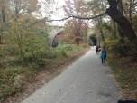 A bit desolate on the half marathon trail.
