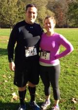 My running partner, Katrina