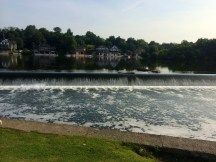Boathouse Row on the other side
