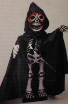 Glow-Head Skeleton (1990 Telco Stock Image)