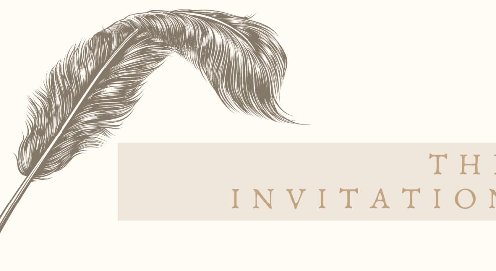 the Invitation blog banner png