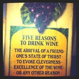 Five Reasons To Drink Wine