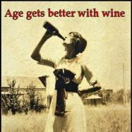 Age ets better with wine