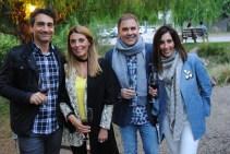 Ignacio Nazar, Sandra Persia, Martín Clement y Cecilia Romano