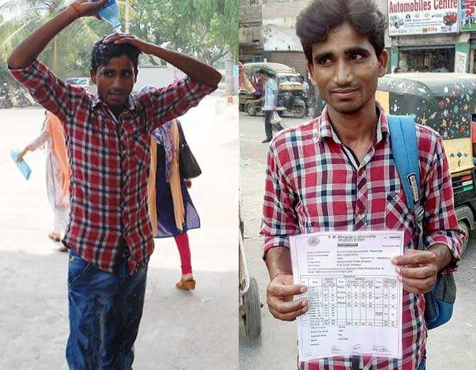 Student tried to Commit Suicide in the College for pending Results   The Bihar News