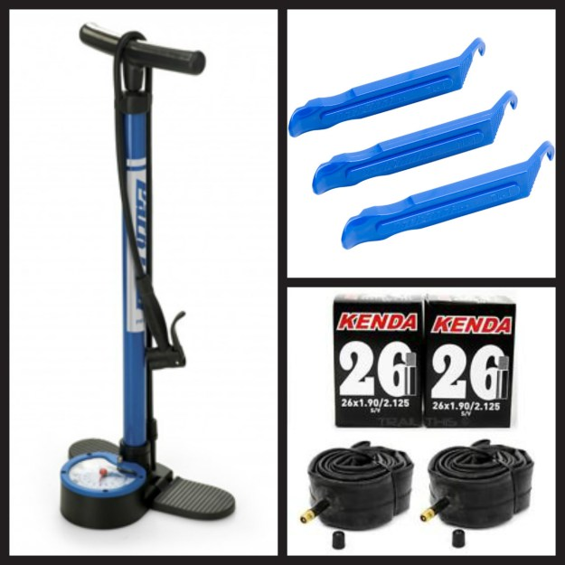 Bike tire repair tools