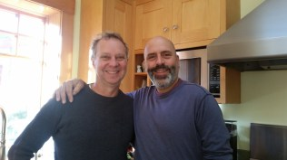 John & I 2 decades later.