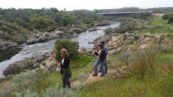 Hiking near Copperopolis