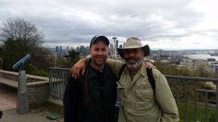 Old friends in Seattle