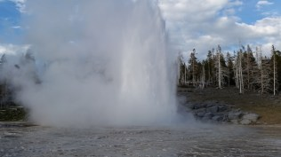 Grand Geyser. The tallest predictable Geyser in the world.