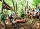 The roar of the spectators could be heard all over the mountain in both the Cat 1 and Pro races.