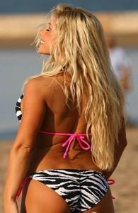 Zebra String Colombian Bikini