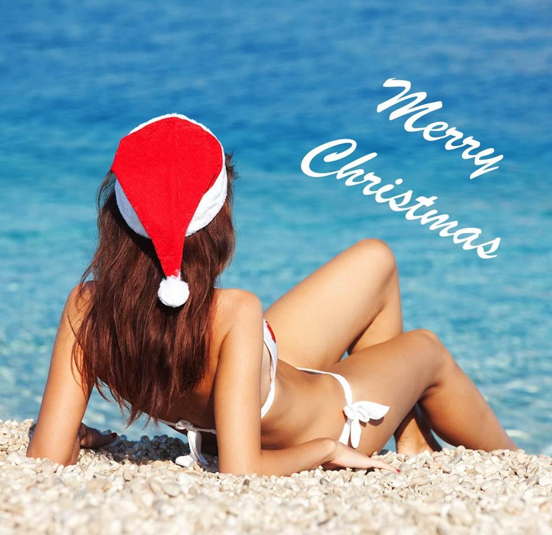 Christmas Bikinis