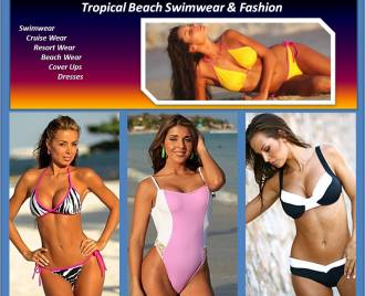 Sexy Bikini Swimwear http://www.tropicalbeachswimwear.com